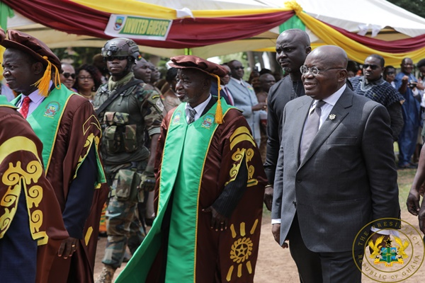 President Akuffo-Addo at UNER 4th Congregation