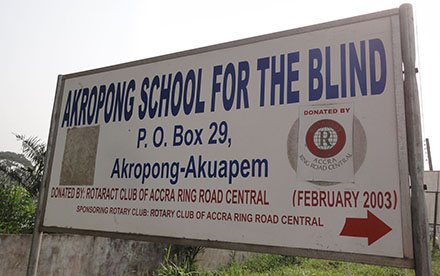 Akropong School of the Blind